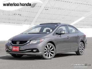 Used 2013 Honda Civic Touring Bluetooth, Back Up Camera, Navigation, and More! for sale in Waterloo, ON