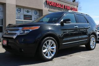 Used 2014 Ford Explorer XLT Navigation, Camera, Panoramic, 7 Passenger for sale in North York, ON