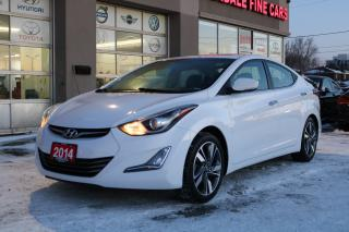 Used 2014 Hyundai Elantra Limited Navigation, Camera, Leather, Sunroof for sale in North York, ON