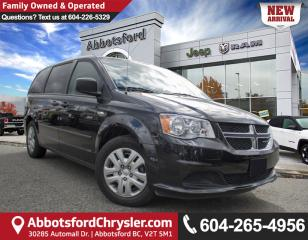 Used 2016 Dodge Grand Caravan SE/SXT *ACCIDENT FREE* *LOCALLY DRIVEN* for sale in Abbotsford, BC