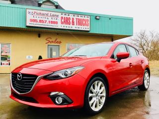 Used 2015 Mazda MAZDA3 GT NAVIGATION!! REVERSE CAMERA!! HEATED SEATS!! BLUETOOTH & MUCH MORE!! for sale in Bolton, ON