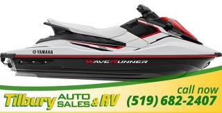New 2018 Yamaha EX SPORT RED. WAVE RUNNER. for sale in Tilbury, ON