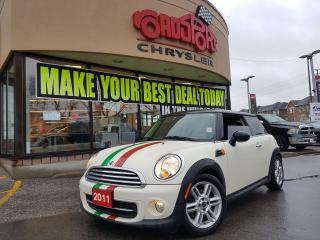 Used 2011 MINI Cooper Classic P-ROOF LEATHER AUTO ALLOY  WHLS H-TED SEAT for sale in Scarborough, ON