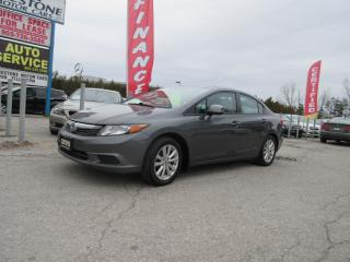 Used 2012 Honda Civic EX / ACCIDENT FREE / LOCAL CAR for sale in Newmarket, ON