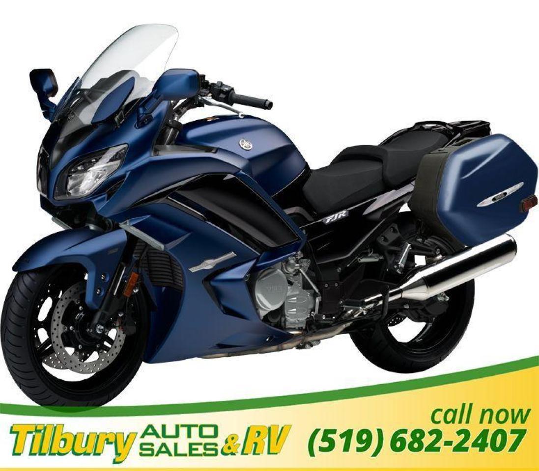 2018 Yamaha FJR1300ES ABS. 1298cc, DOHC, 16-valve engine.