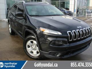 Used 2014 Jeep Cherokee SPORT AWD/CRUISE/POWEROPTIONS/HITCH/TINT for sale in Edmonton, AB