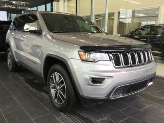 Used 2017 Jeep Grand Cherokee LIMITED, 4WD, ACCIDENT FREE for sale in Edmonton, AB