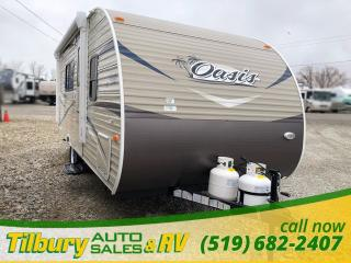 New 2018 Forest River SHASTA OASIS 18FQ TRAVEL-TRAILER for sale in Tilbury, ON
