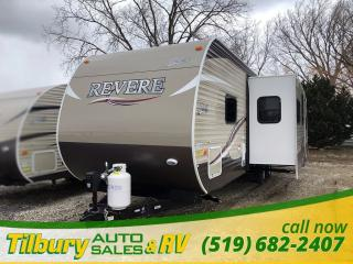 New 2018 Forest River SHASTA REVERE 32DS Bunk house. Outdoor Kitchen. for sale in Tilbury, ON