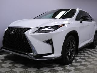 Used 2016 Lexus RX 350 F-Sport AWD - Local One Owner Trade In | No Accidents | 3M Protection Applied | Remote Starter Installed | Navigation | Back Up Camera | Parking Sensors | Blind Spot Monitor | Dual Zone Climate Control with AC | Power Sunroof | Power Liftgate | Heated/Coo for sale in Edmonton, AB