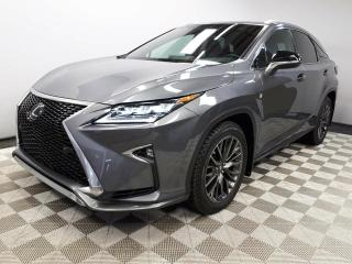 Used 2016 Lexus RX 350 F-Sport AWD - Local One Owner Trade In | No Accidents | Navigation | Back Up Camera | Parking Sensors | Blind Spot Monitor | Rear Cross Traffic Alert | Dual Zone Climate Control with AC | Power Sunroof | Heated/Cooled Front Seats | Heated Rear Seats | Hea for sale in Edmonton, AB