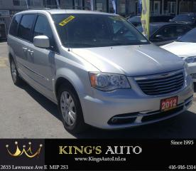 Used 2012 Chrysler Town & Country TOURING, LEATHER, DVD, BACKUP CAM for sale in Scarborough, ON