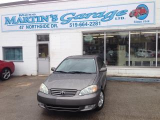 Used 2003 Toyota Corolla Sport for sale in St Jacobs, ON