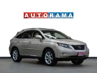 Used 2012 Lexus RX 350 NAVIGATION LEATHER SUNROOF 4WD BACKUP CAMERA for sale in North York, ON