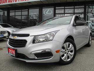 Used 2016 Chevrolet Cruze Limited-POWER GROUP for sale in Scarborough, ON