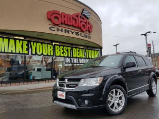 Used 2017 Dodge Journey GT NAVI P ROOF 7 PASS H-TED  WHEEL DVD for sale in Scarborough, ON