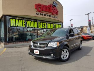 Used 2017 Dodge Grand Caravan Crew Plus DVD LTHR REAR CAM H-TED SEATS for sale in Scarborough, ON