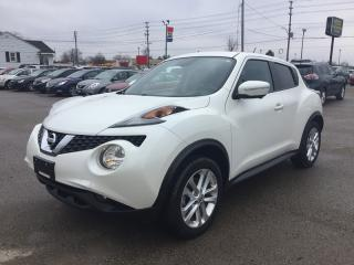 Used 2016 Nissan JUKE SL * AWD * LEATHER * NAV * REAR CAM * SUNROOF * BLUETOOTH for sale in London, ON