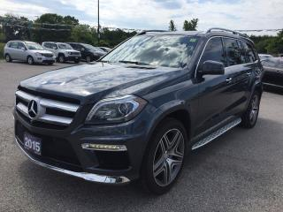 Used 2015 Mercedes-Benz GL350 GL-CLASS * Bluetec 4MATIC * Fully Loaded * 1 Owner * AWD * Leather * NAV * Rear CAM * PAN Sunroof * BLU for sale in London, ON