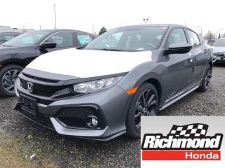 New 2018 Honda Civic Sport w/Honda Sensing for sale in Richmond, BC