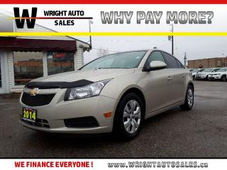 Used 2014 Chevrolet Cruze 1LT|BLUETOOTH|KEYLESS ENTRY|77,667 KMS for sale in Cambridge, ON