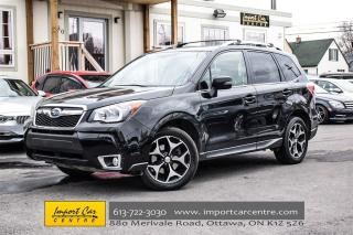 Used 2014 Subaru Forester XT LIMITED LEATHER, PANO ROOF, HARMON KARDON for sale in Ottawa, ON