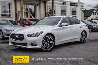 Used 2015 Infiniti Q50 AWD LIMITED 19ALLOYS, NAVIGATION, BACKUP CAMERA for sale in Ottawa, ON