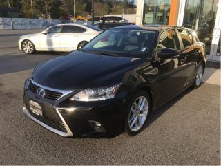 Used 2014 Lexus CT 200h Hybrid / Touring Package for sale in North Vancouver, BC