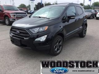 Used 2018 Ford EcoSport SES 4WD - Bluetooth - Low Mileage for sale in Woodstock, ON