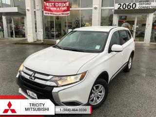Used 2016 Mitsubishi Outlander ES  - AWC, HEATED SEATS, BACK UP CAMERA for sale in Port Coquitlam, BC
