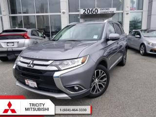 Used 2016 Mitsubishi Outlander SE  - V6 AWC SUNROOF, 7 PASSENGER for sale in Port Coquitlam, BC