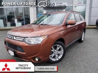 Used 2014 Mitsubishi Outlander GT  - Leather Seats for sale in Port Coquitlam, BC