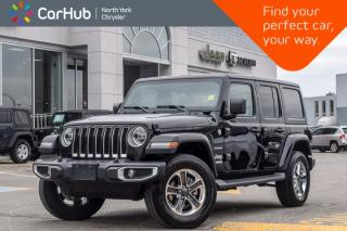 New 2018 Jeep Wrangler Unlimited New Car Sahara 4x4|LED,Cold Wthr.,Safety Pkgs|Backup_Cam for sale in Thornhill, ON