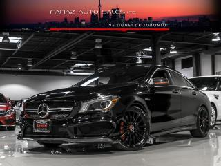 Used 2014 Mercedes-Benz CLA-Class CLA45 AMG **RARE, EDITION 1**CARBON FIBER|NAVI|BLINDSPOT|REAR CAM|PANO|LOADED for sale in North York, ON