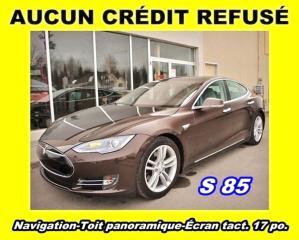Used 2014 Tesla Model S S 85 T.équipé Toit for sale in Saint-jerome, QC