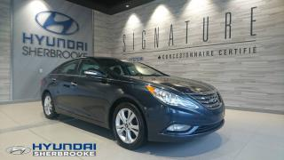 Used 2013 Hyundai Sonata LIMITED+TOIT+CUIR+4 BANCS CHAUFF for sale in Sherbrooke, QC
