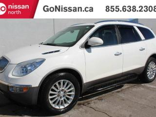 Used 2010 Buick Enclave CXL-1, AWD, TOP MODEL, REAR DVD, NAVIGATION, LEATHER, SUNROOF. for sale in Edmonton, AB