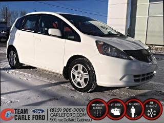 Used 2013 Honda Fit Honda Fit LX 2013, seulement 40.400 km for sale in Gatineau, QC