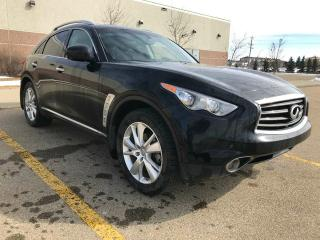 Used 2013 Infiniti FX37 FX37 All Wheel Drive / Sunroof / Back Up Camera for sale in Edmonton, AB
