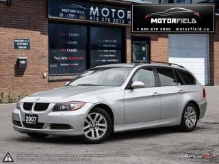 Used 2007 BMW 3 Series 328xi Touring *NO ACCIDENTS, CERTIFIED, PANO ROOF* for sale in Scarborough, ON