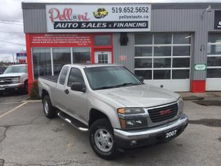 Used 2007 GMC Canyon SLE Z85 4X4 SUNROOF for sale in London, ON