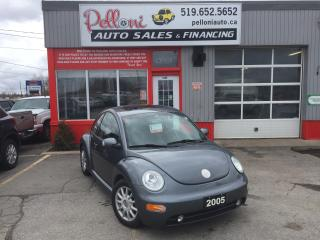 Used 2005 Volkswagen Beetle GLS AUTO LEATHER+SUNROOF for sale in London, ON