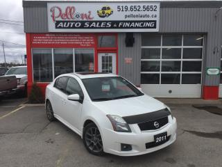Used 2011 Nissan Sentra SE-R 2.5L SUNROOF+NAVIGATION for sale in London, ON
