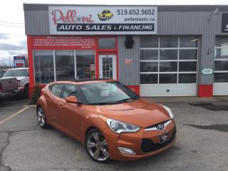 Used 2012 Hyundai Veloster 3 DOOR GLS w/NAVIGATION+PANORAMIC ROOF for sale in London, ON