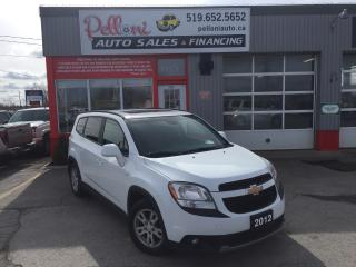 Used 2012 Chevrolet Orlando 1LT SUNROOF+BLUETOOTH 7PASSENGER for sale in London, ON