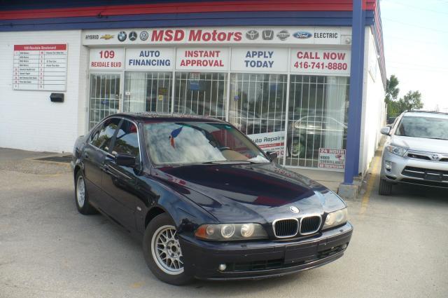 2001 BMW 5 Series 525iA
