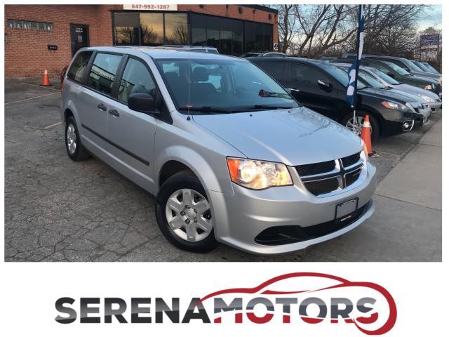 2012 Dodge Grand Caravan SE | ONE OWNER | NO ACCIDENTS | LIKE NEW