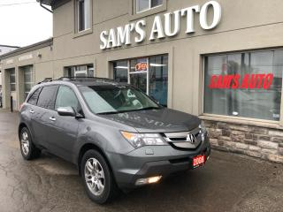 Used 2008 Acura MDX AWD 7 passenger leather sunroof for sale in Hamilton, ON