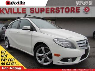 Used 2013 Mercedes-Benz B-Class Sports Tourer | LEATHER | PANO ROOF | BLUETOOTH for sale in Oakville, ON