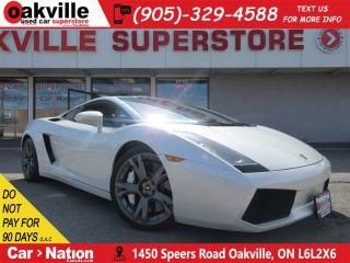 Used 2007 Lamborghini Gallardo AWD | LEATHER | NAV | B/U CAM | 512 HP ! for sale in Oakville, ON